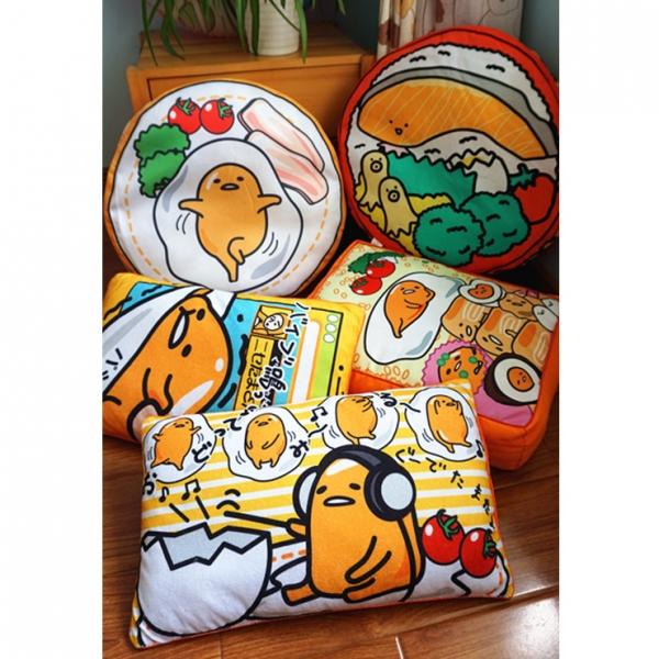 正版日本蛋黄哥gudetama懒懒蛋鸡蛋君卡通可爱大抱枕